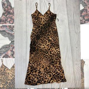 REVERSE Leopard Print Dress